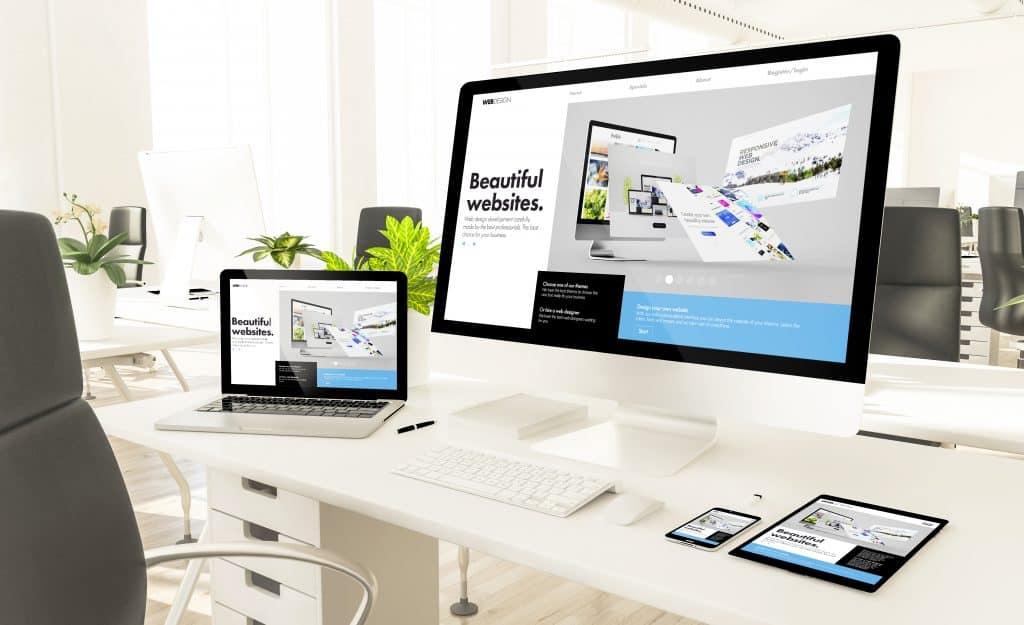 עיצוב אתרים, עיצוב אתר